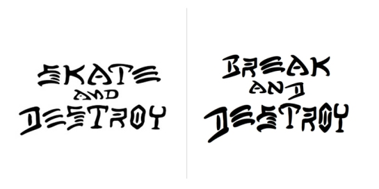 Case Study : Break and Destroy Logo… | The Reduction…
