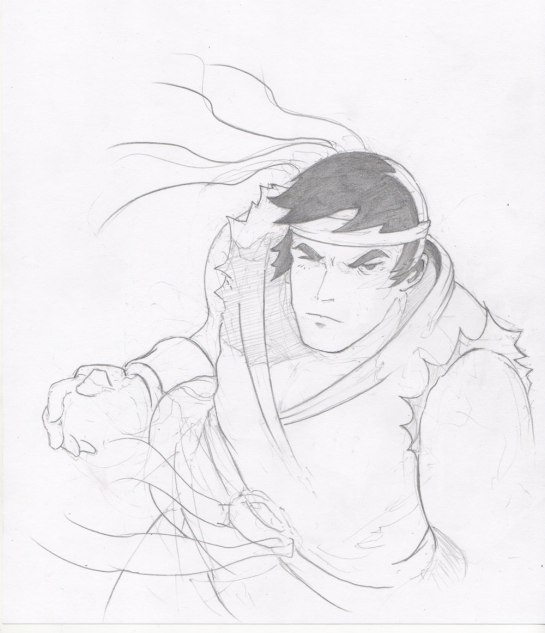 Drawing Ryu The Reduction